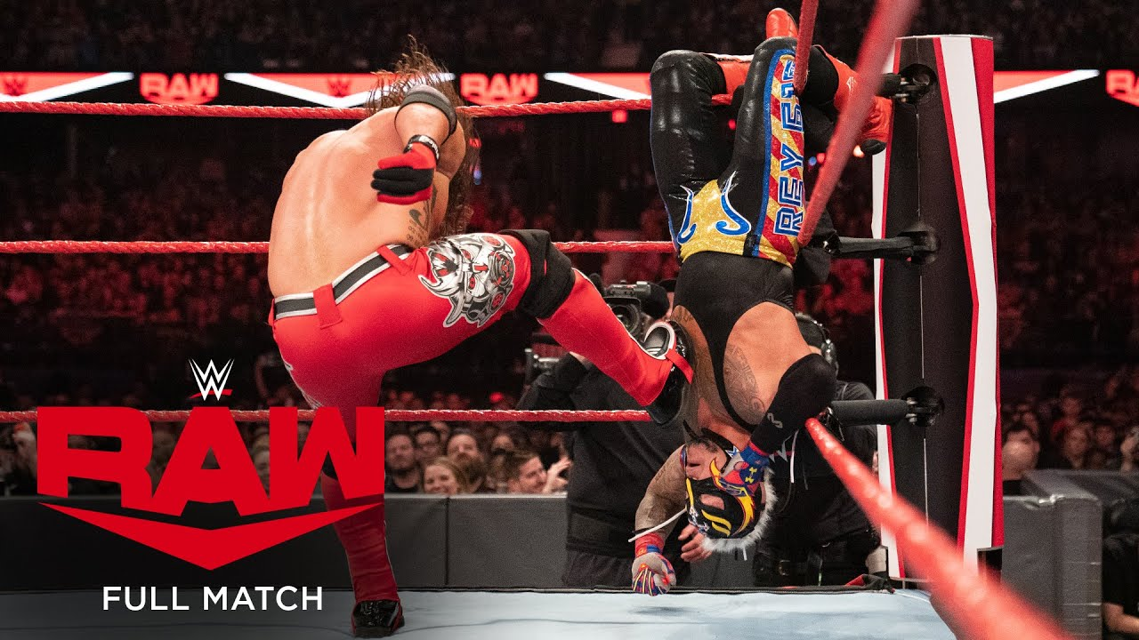 FULL MATCH - AJ Styles vs. Rey Mysterio – United States Title Match: Raw, November 25, 2019