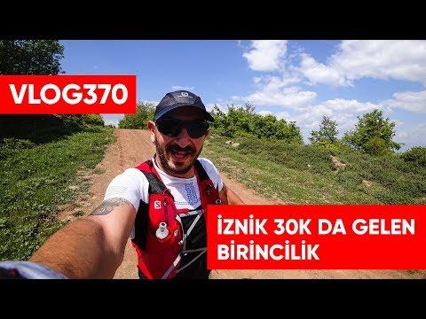 İznik Ultra 30k Göllüce Patika Koşusunda yaş grubu birinciliği | Asla Durma Vlog370