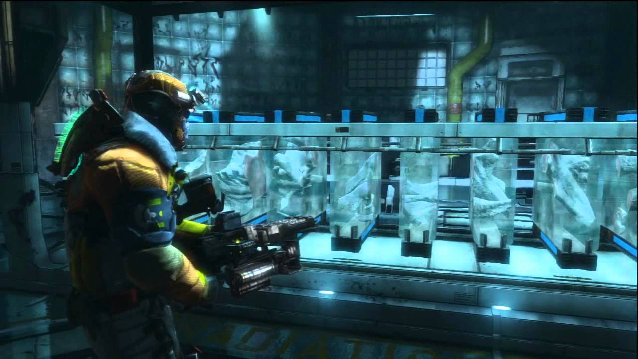 Dead Space 3 Chapter 15 ROSETTA PUZZLE SOLVED! - YouTube