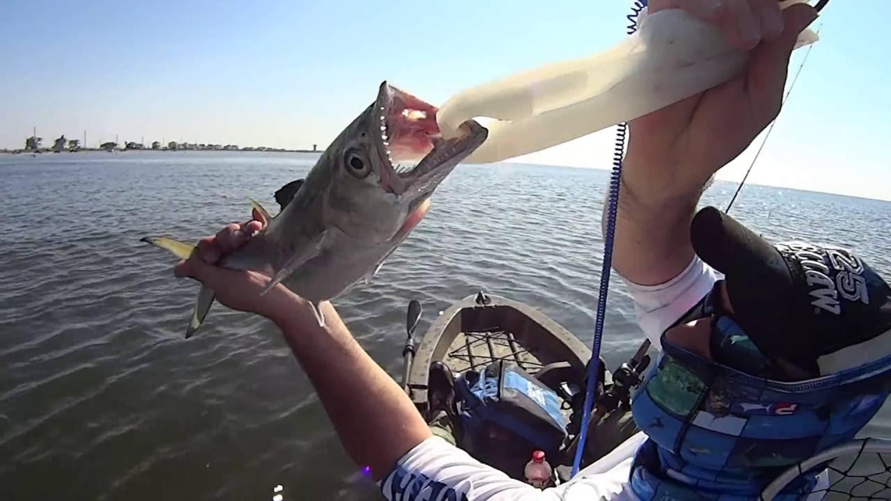 Kayak fishing galveston tx youtube for Fishing galveston tx