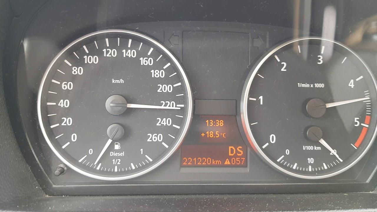 Bmw E90 330d (hybrid turbo) 100-240 km/h acceleration - YouTube
