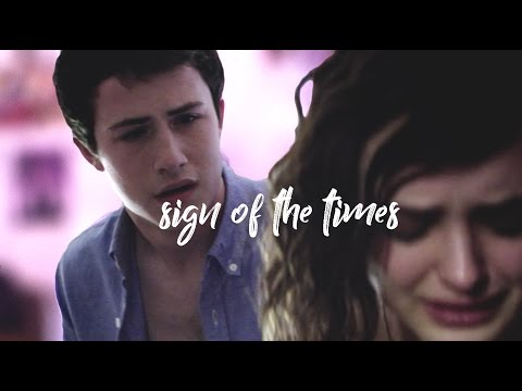 Hannah & Clay 13 Reasons Why - Sign Of The Times