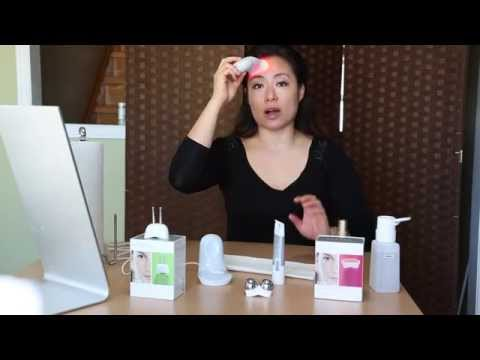 nuface-trinity-pro-series-anti-wrinkle-remover-(awr)-led-skin-treatment-tutorial