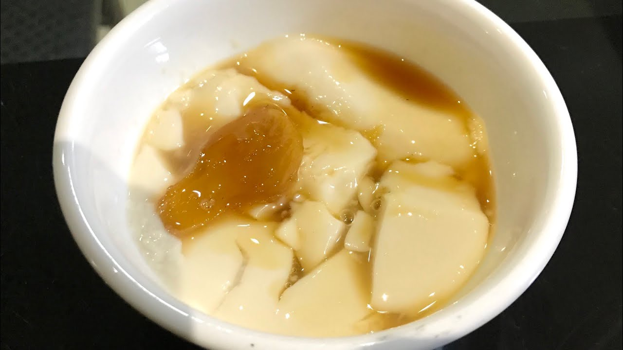 បង្អែមតៅហ៊ូ | តៅហ៊ូទឹកស្ករខ្ញី| Tofu dessert | Tofu pudding | Khmer dessert | Cambodia best food