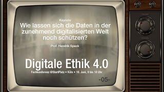Wie lassen sich Daten in digitalisierter Welt schützen? - 05 #DigitaleEthik40