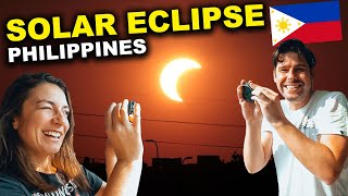 FOREIGNERS amazed by SOLAR ECLIPSE 2020 in the PHILIPPINES