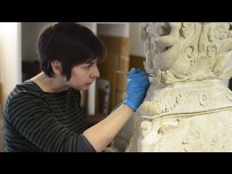 Piranesi Candelabra Conservation at the Ashmolean Museum