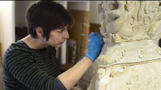 Repeat youtube video Piranesi Candelabra Conservation at the Ashmolean Museum