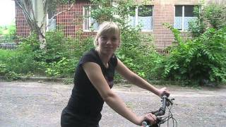 как научиться ездить на велосипеде за 2 часа(урок 4)