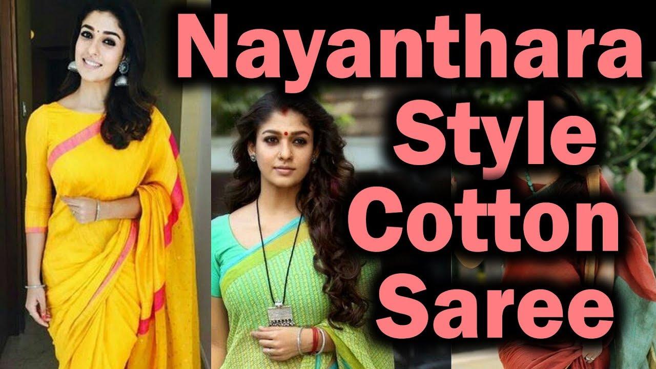 Opinion nayanthara hot saree pity