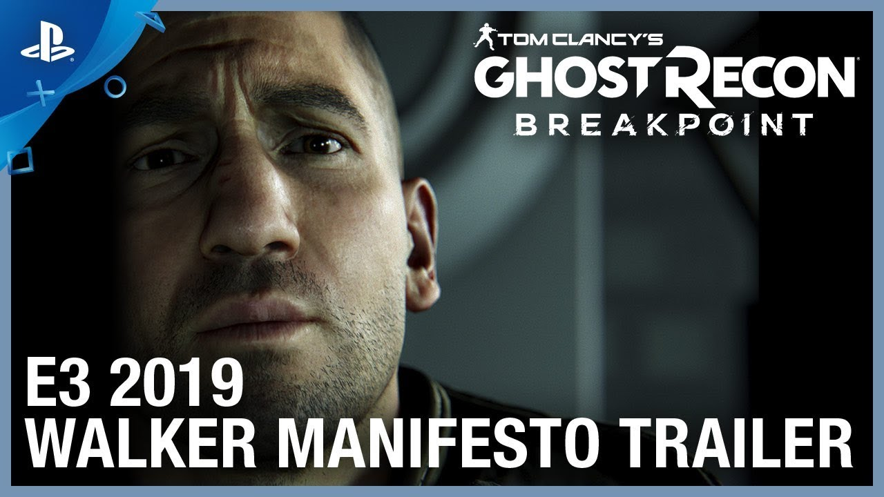 Tom Clancy's Ghost Recon Breakpoint - Walker Manifesto Trailer | PS4