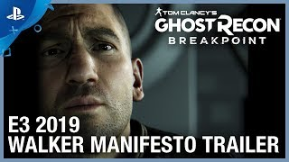 Ghost Recon Breakpoint - Walker Manifesto Trailer | PS4