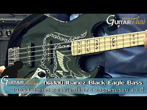 Review Ibanez Black Eagle Bass Reissue 1975 By Wwwguitarthaicom