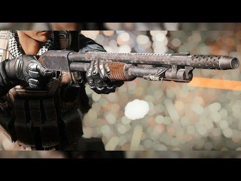 Fallout 4 Mods Gameplay: Ithaca Model 37 - Pump Shotgun