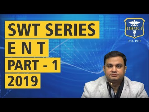 SUBJECT WISE TEST SERIES - (ENT) - PART - 1 - 2019