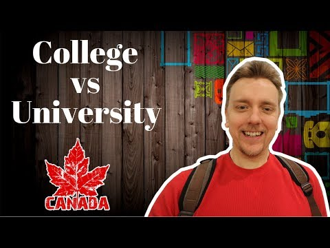 Studying in Canada | College vs University