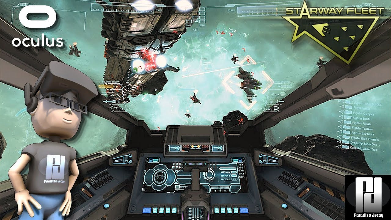 STARWAY FLEET VR - The EVE VALKYRIE Campaign we've been hoping for? |  Oculus Rift