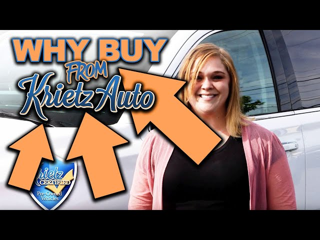 Why Buy From Krietz Auto