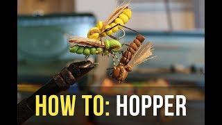 Easy & Effective Hopper Fly // TxAngler