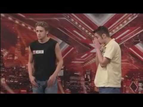 THE X FACTOR 2008 - Ant n Deaf Audition - SO FUNNY!
