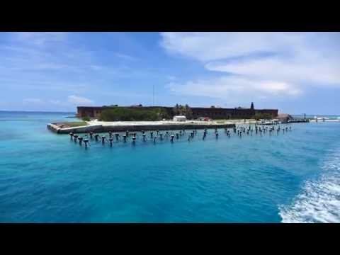 Dry Tortugas National Park, Florida - Fort Jefferson Departure HD (2016)