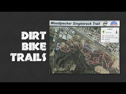 Bike Trails - Woodpecker Singletrack Dirt Trail