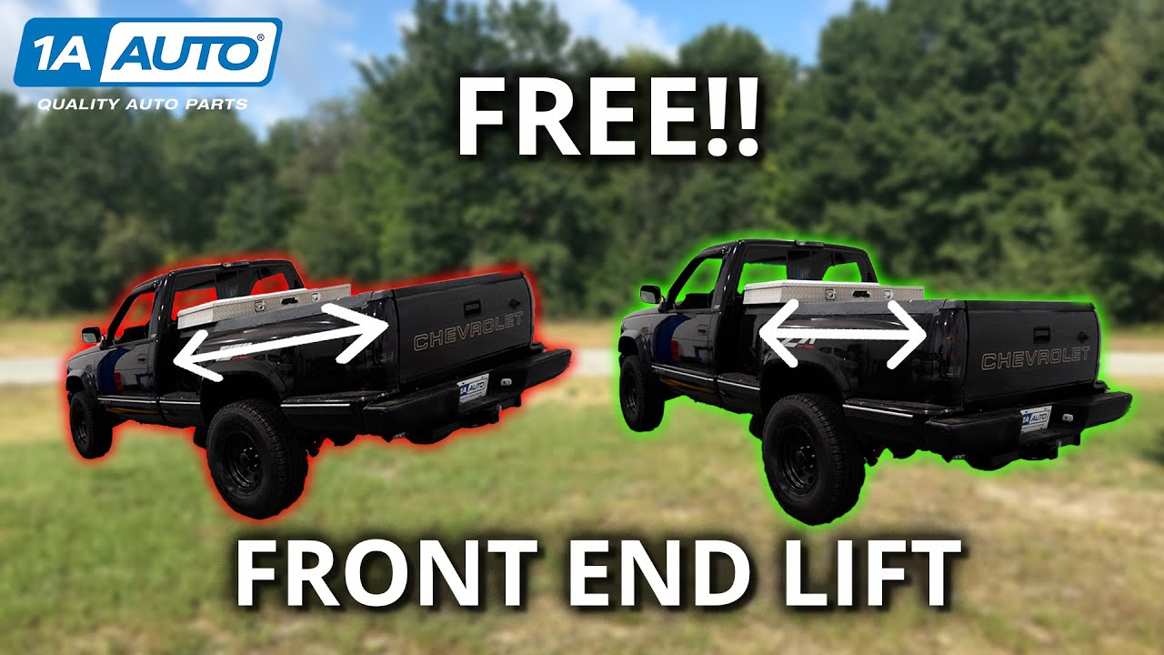 Is Your Truck's Rake Too Extreme? How to Level Torsion Bar Suspension For Free!