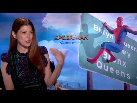Spider-Man Homecoming Marisa Tomei Interview
