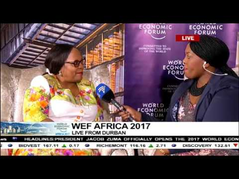 Access to water and sanitation in Africa: Nomvula Mokonyane
