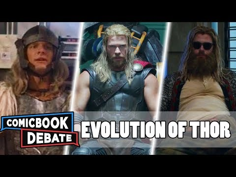 Evolution Of Thor In Movies & TV In 8 Minutes (2019)