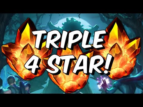 Triple Four Star Crystal Opening - Angela...