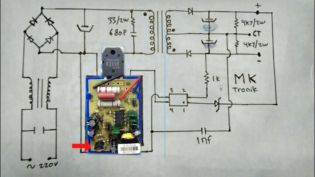 Tutorial Merakit Smps GACUN Untuk Power Amplifier