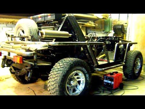 Умелец купил старый  УАЗ 31514 и сделал необычный тюнинг    Самодельный багги внедорожник кабриолет