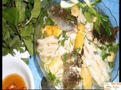 Đặc sản canh cá Quỳnh côi - Thái Bình tại Hà nội