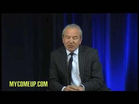 Alan Sugar's - Words of wisdom