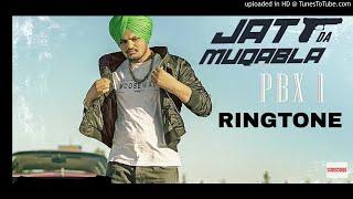 JATT DA MUQABALA RINGTONE | Sidhu Moose Wala new punjabi Ringtone 2018