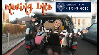 MOVING INTO OXFORD UNIVERSITY VLOG! | First Year Fresher
