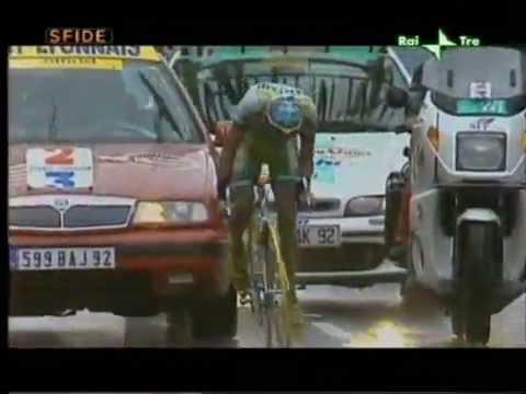 Pantani sul Galibier Tour de France 1998
