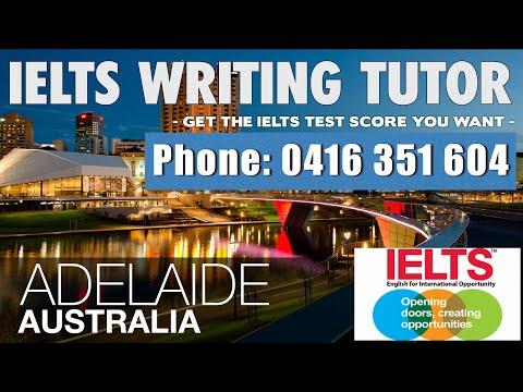 IELTS Writing Task 2 Tutor Adelaide