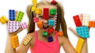 Lego Hands kids songs by Eva | ليغو تعلق في وجه شفا !! | 동요와 아이 노래 | 어린이 교육