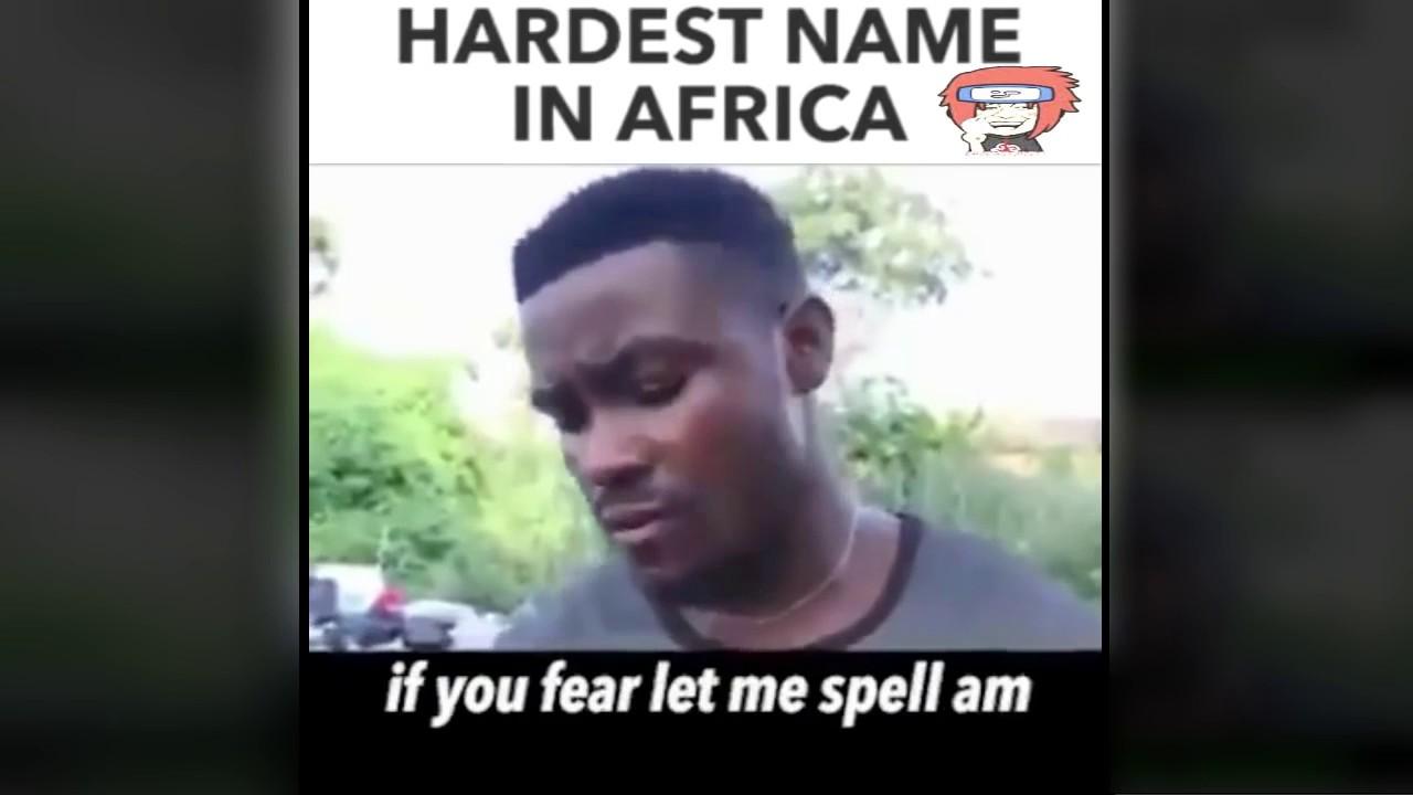 Whats your name? uvuvwevwevwe onyetenyevwe ugwemubwem ossas