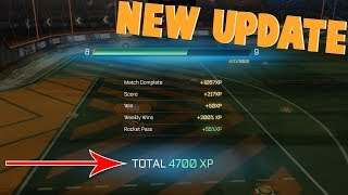 ROCKET LEAGUE PROGRESSION UPDATE - FIRST THOUGHTS