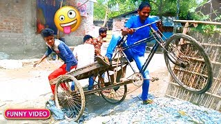 Must Watch New Funny Comedy Videos 2019 😂 😂 - Episode 59 - Desi Funny Video || Bindas Boys