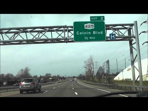 Interstate 290 New York ( Exits 7 to 1 ) west