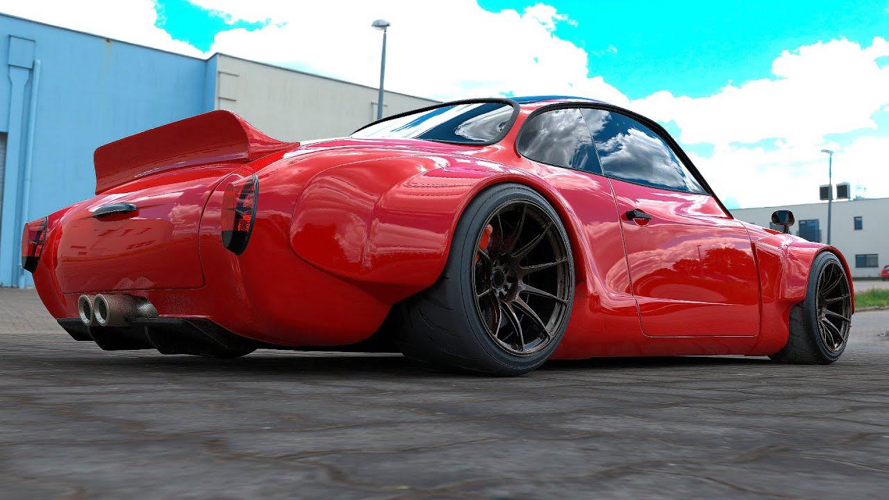 Още един интересен спортен автомобил, за които малцина знаят! Вижте го!