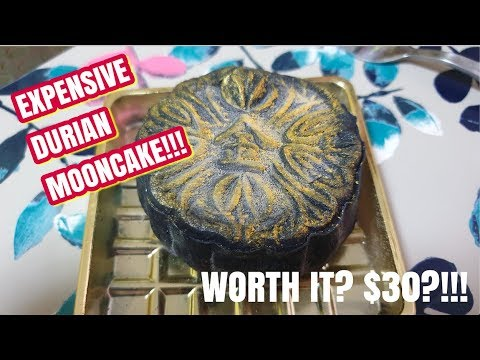 EXPENSIVE #Durian #Mooncake In Singapore - Golden Moments