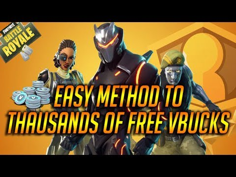 how to get free vbucks fortnite pc