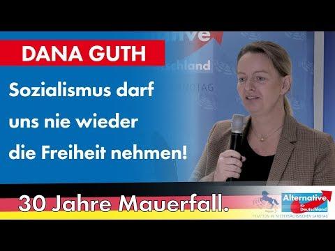 Sozialismus darf uns nie wieder die Freiheit nehmen! Dana Guth, MdL (AfD)