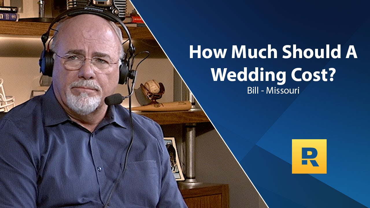 How much should a wedding cost youtube for How much should a wedding cost