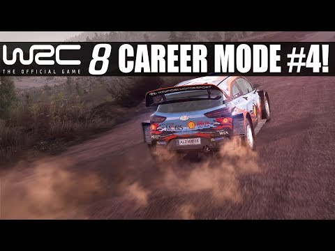 TRYING TO FIND A RHYTHM! WRC 8 Career Mode #4 Rally Finland!
